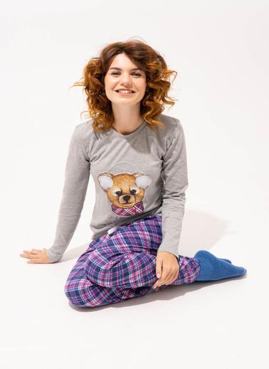 Katia & Bony Pijama Takım Gri